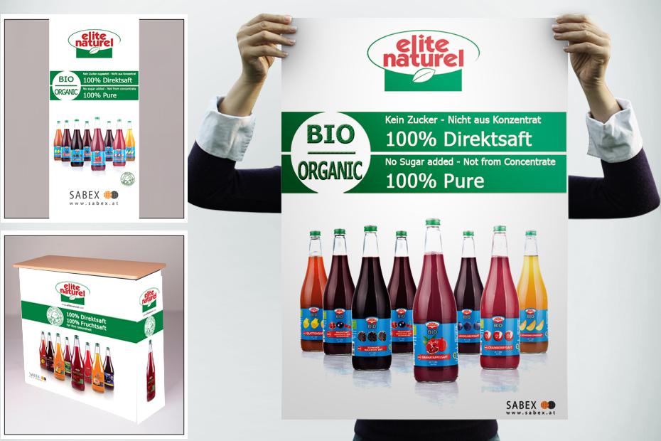 Für Sabex Produktion und Druck von Plakaten