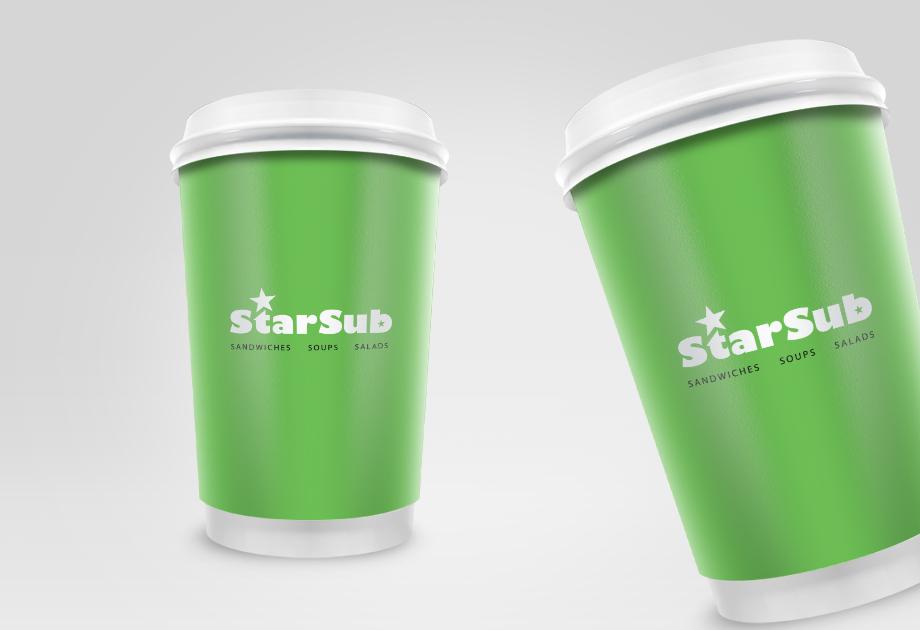bedruckte Thermobecher für StarSub Wien