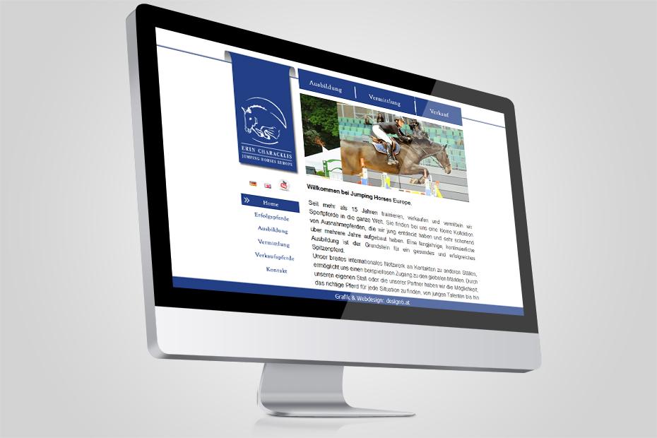 Webdesign mit Mobile Ready für jumpinghorses