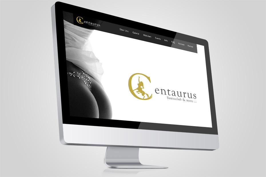 Webdesign bzw Screendesign für Centaurus