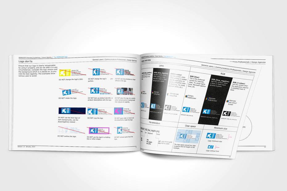 Logodesign inklusive Richtlinien: Do