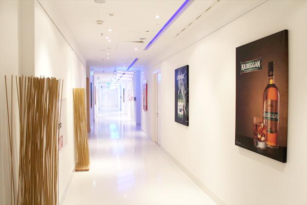 Veranstaltungsort werbeaktion mit Raum branding